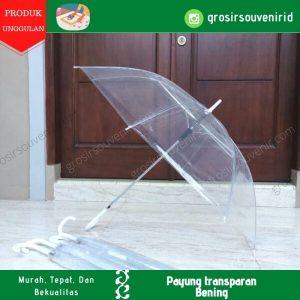 payung panjang transparan bening grc sakura nagoya hossun